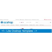 Lite Ocshop Template